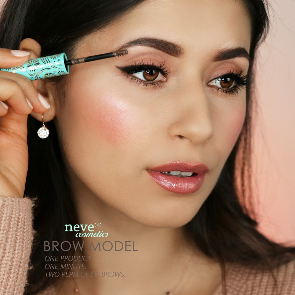Mineralny tusz do stylizacj brwi Brow Model Neve Cosmetics